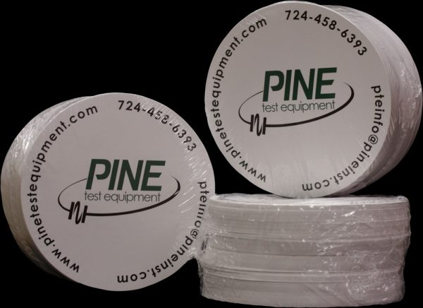 150-mm Paper Disk for Compacting Asphalt Specimens