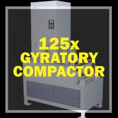 125x Gyratory Compactor