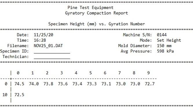 125X Upgrade Controls Wide Brief Report TXT File