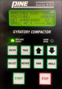 Pine 125X Control Panel